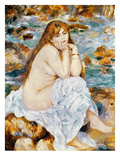 Renoir: Seated Bather  1885