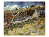 Van Gogh: Cottages  1890