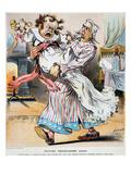Tariff Cartoon  1896