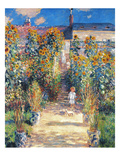 Monet: Garden/Vetheuil
