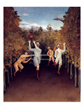 Rousseau: Football  1908