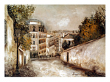 Utrillo: Montmartre  20Th C