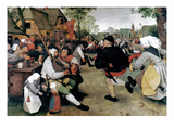 Bruegel: Peasant Dance