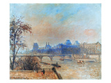 Pissarro: Seine  1903