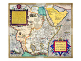 African Map  1595