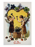 Valentine's Day Card  1900