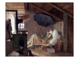 Spitzweg: Poor Poet  1839