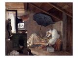 Spitzweg: Poor Poet  1839