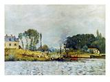 Sisley: Boats  1873