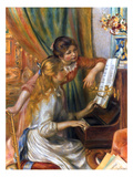 Renoir: Girls/Piano  1892