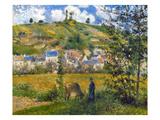 Pissarro: Chaponval  1880