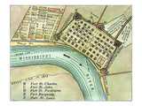 Plan Of New Orleans  1798