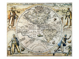 W Hemisphere Map  1596