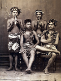 Tahiti: Men  C1890