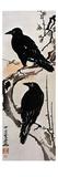 Japanese Print: Crow