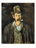 Cezanne: Pipe Smoker  C1892