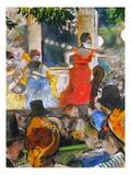 Degas: Concert  C1876-77