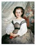 Renoir: Mlle Lacaux  1864