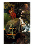 Gauguin: White Horse  1898