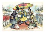 Missionary Cartoon  1895