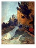 Gauguin: Alyscamps  1888