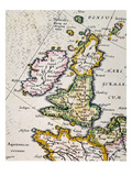 Map Of Great Britain  1623