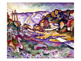 Braque: L&#39;Estaque  1906