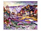 Braque: L'Estaque  1906