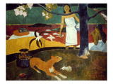 Gauguin: Pastoral  19Th C