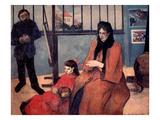 Gauguin: Family  1889