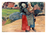 Gauguin: Breton Women  1894