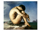 Flandrin: Nude Youth  1837