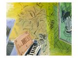 Dufy: Claude Debussy  1952