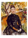 Cezanne: Mme Cezanne  1890