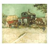 Van Gogh: Gypsies  1888