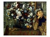 Degas: Woman & Flowers
