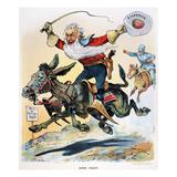Free Silver Cartoon  1896