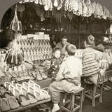 Japan: Shoe Store  C1910