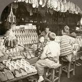 Japan: Shoe Store  C1910