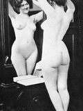 Nude And Mirror  1902