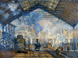 Monet: Gare St-Lazare  1877