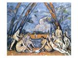 Cezanne: Baigneuses  1905