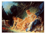 Boucher: Diana Bathing