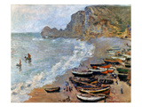 Claude Monet: Etretat  1883
