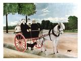 Rousseau: Cart  1908
