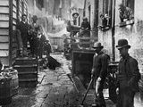 Riis: Bandits' Roost  1887