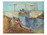 Van Gogh: Drawbridge  1888