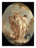Boucher: Three Graces  18 C