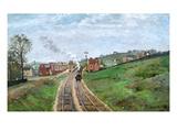 Pissarro: Station  1871