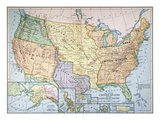 Map: US Expansion  1905